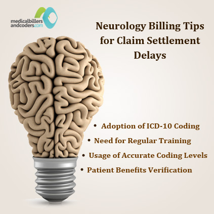 Neurology Billing Tips For Claim Settlement Delays