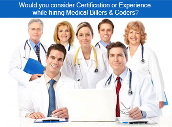 Certification Vs. Experience for Medical Billers and Coders