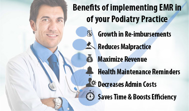 How to Increase Revenue of your Podiatry Practice after Implementing EMR?
