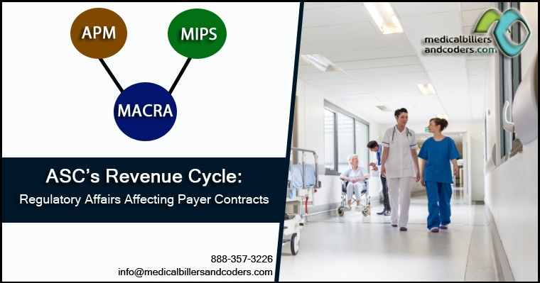 ASC's Revenue Cycle Regulatory Affairs Affecting Payer Contracts