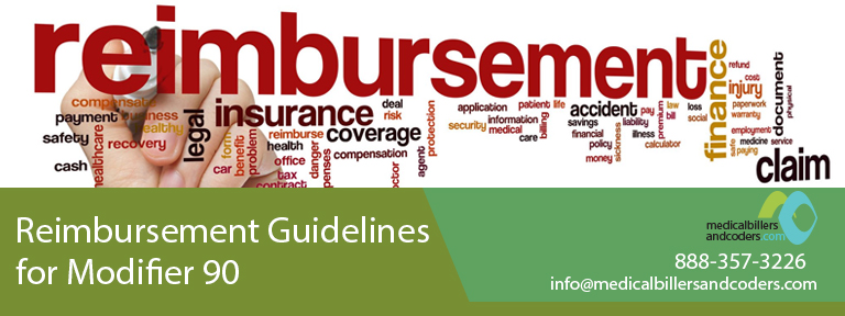 Reimbursement Guidelines for Modifier 90