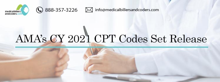 AMA's CY 2021 CPT Codes Set Release