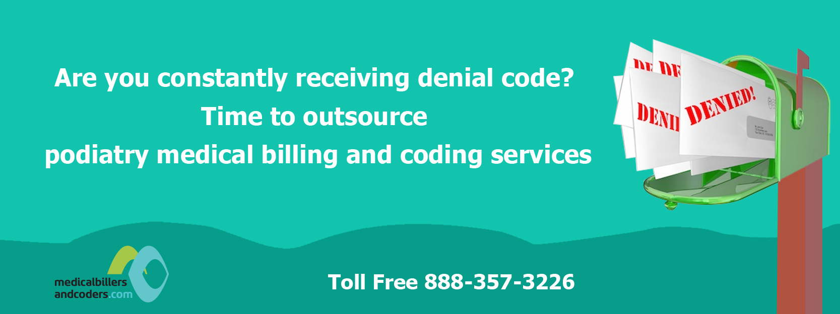 Are-you-constantly-receiving-denial-code?-Time-to-outsource-podiatry-medical-billing-and-coding-services