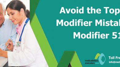 Avoid the Top 10 Modifier Mistakes – Modifier 51