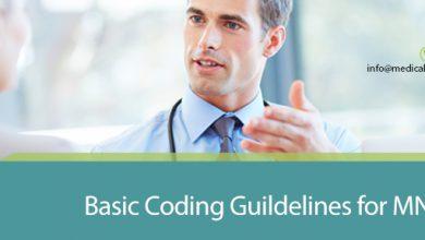 Basic Coding Guidelines for MNT