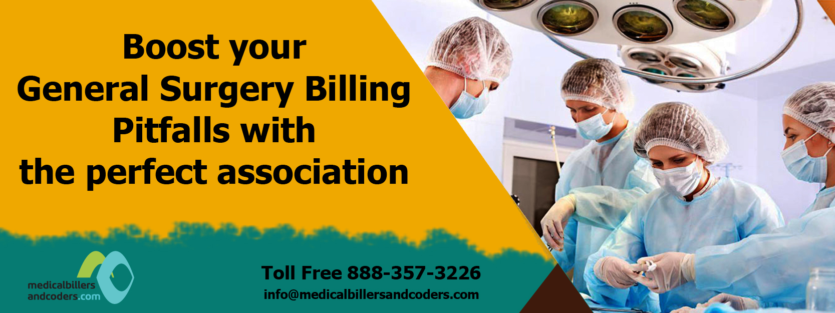 Boost your General Surgery Billing Pitfalls with the perfect association