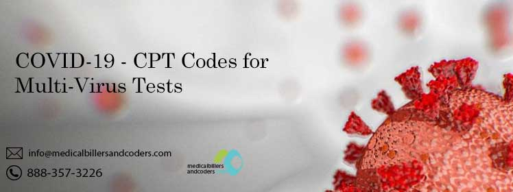 COVID-19 - CPT Codes for Multi-Virus Tests