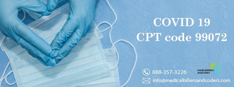 COVID-19 - CPT code 99072