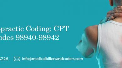 Chiropractic Coding: CPT Codes 98940-98942