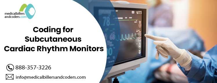 Coding for Subcutaneous Cardiac Rhythm Monitors
