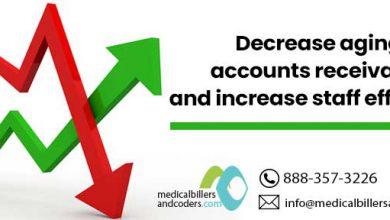 Decrease aging accounts receivable and increase staff efficiency