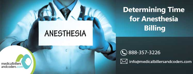 Determining Time for Anesthesia Billing