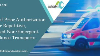 Extension of Prior Authorization for Repetitive, Scheduled Non-Emergent Ambulance Transports