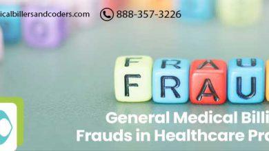 General medical billing frauds in healthcare practices