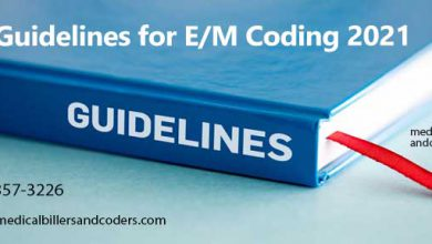 Guidelines for E/M Coding 2021