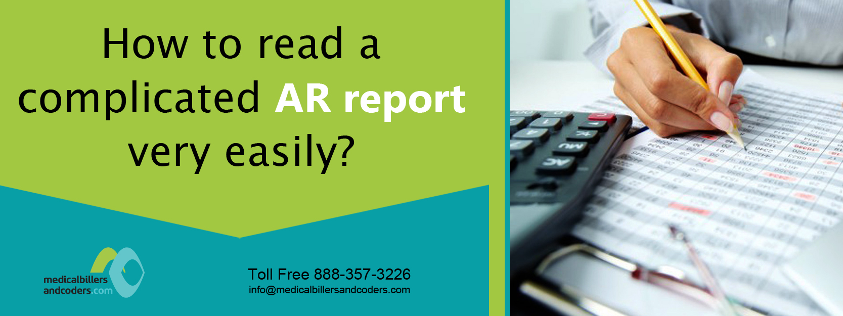 How to read a complicated AR report very easily?