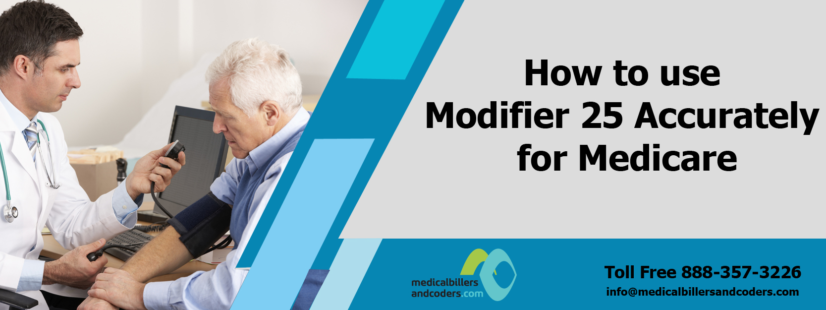 How to use Modifier 25 Accurately for Medicare