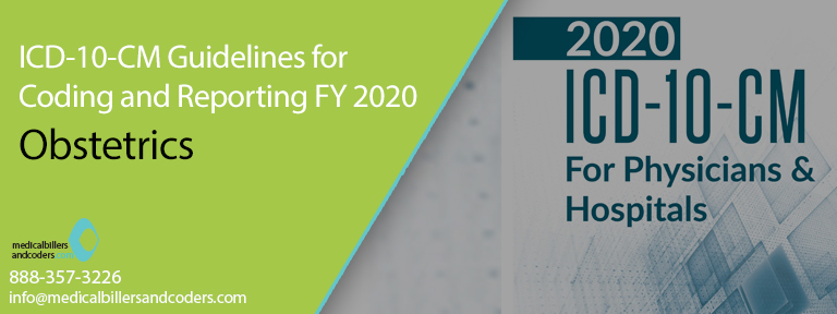 ICD-10-CM Guidelines for Coding and Reporting FY 2020 - Obstetrics