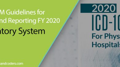 ICD-10-CM Guidelines for Coding and Reporting FY 2020 - Respiratory System