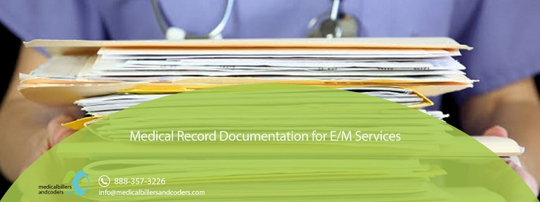 Medical Record Documentation for E/M Services
