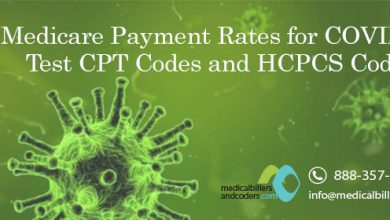 Medicare Payment Rates for COVID-19 Test CPT Codes and HCPCS Codes