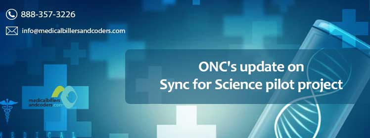 ONC's update on Sync for Science pilot project