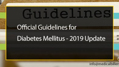 Official Guidelines for Diabetes Mellitus – 2019 Update