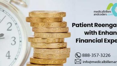 Patient reengagement with enhanced financial experience