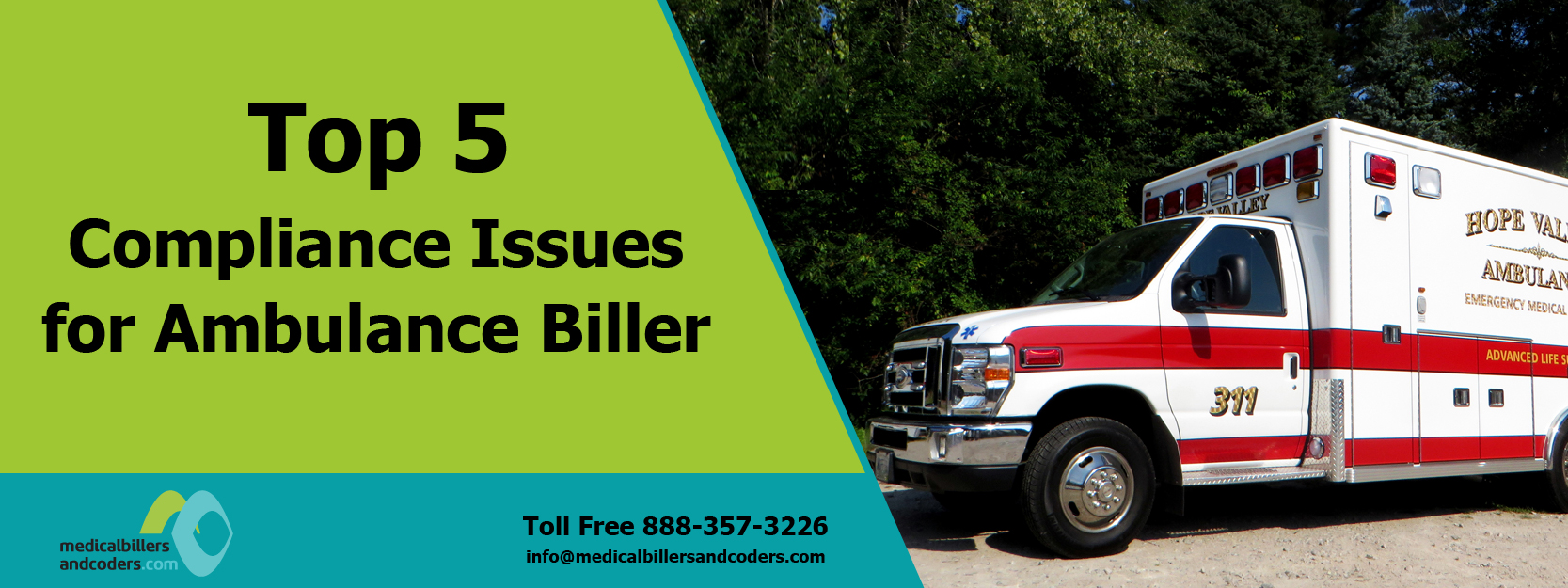 Top 5 Compliance Issues for Ambulance Biller