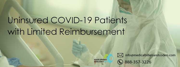 Uninsured COVID-19 Patients with Limited Reimbursement