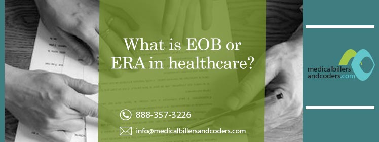 What is EOB or ERA in healthcare?