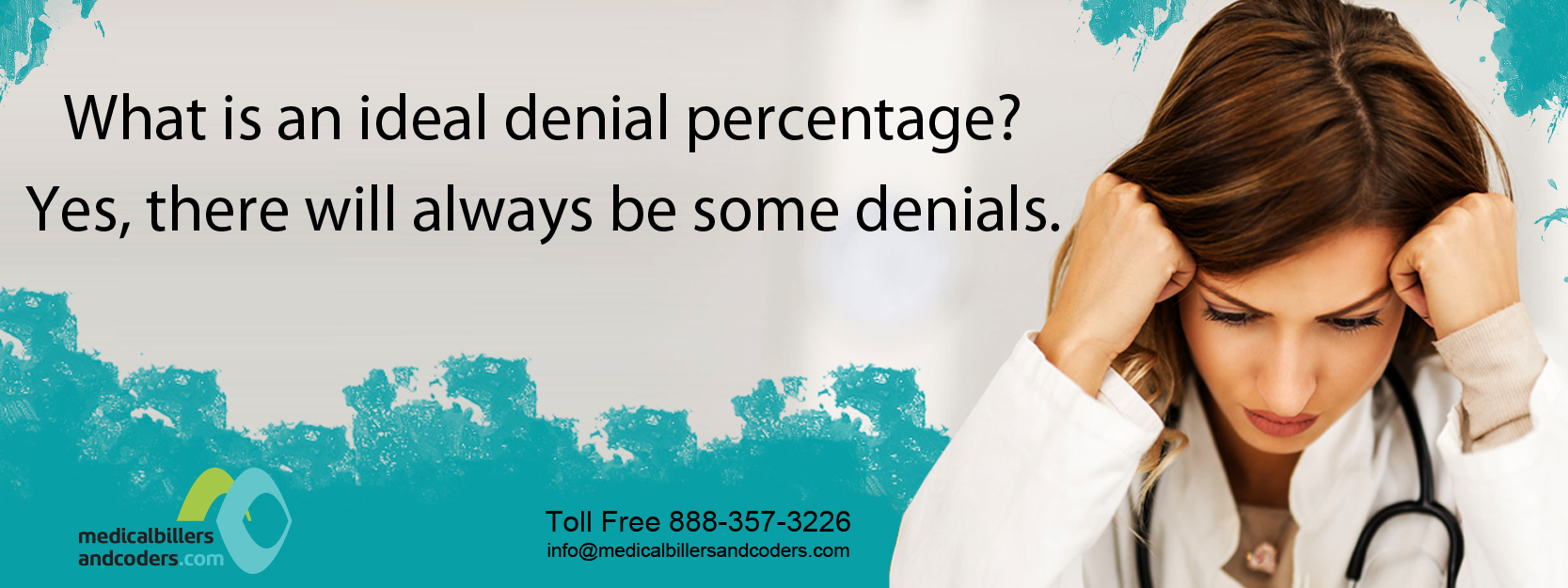 What is an ideal denial percentage? Yes, there will always be some denials