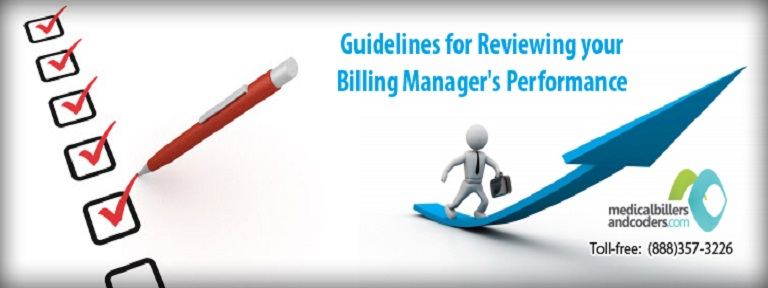 Guidelines for Reviewing your Billing Manager's Performance