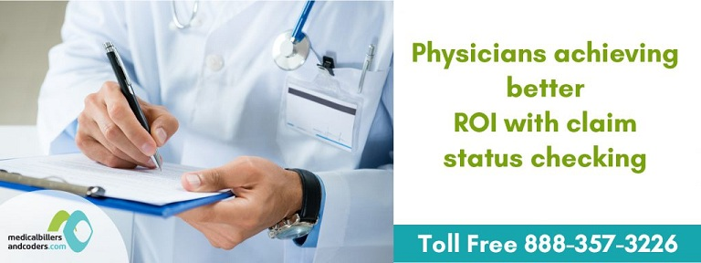 Physicians achieving Better ROI with Claim Status Checking