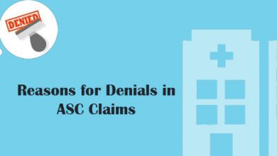 Reasons for Denials in ASC Claims