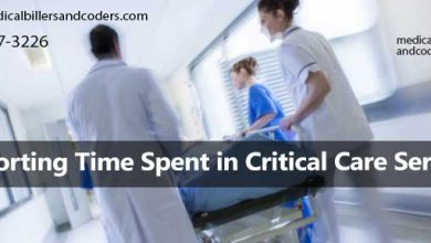 Reporting Time Spent in Critical Care Service