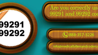 Are you correctly Using 99291 and 99292 codes?