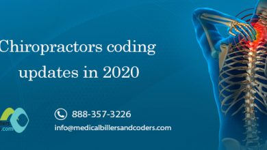 Chiropractors coding updates in 2020