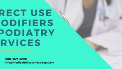 Correct Use of Modifiers for Podiatry Services