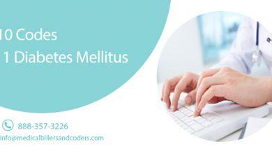 ICD-10 Codes - Type 1 Diabetes Mellitus
