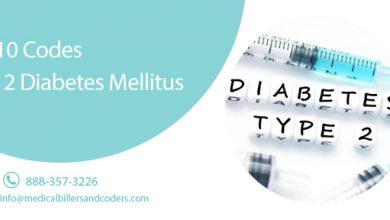ICD-10 Codes - Type 2 Diabetes Mellitus