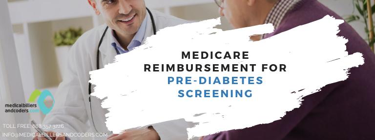 Medicare Reimbursement for Pre-Diabetes Screening