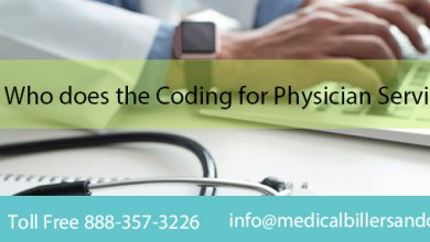 Who does the Coding for Physician Services?