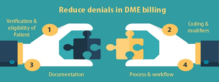 How to reduce denials in DME billing?