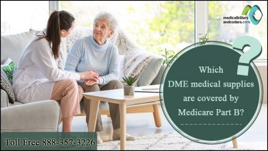 Which DME medical supplies are covered by Medicare Part B?