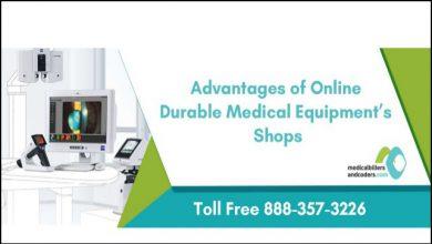 Advantages of Online Durable Medical Equipment Shop
