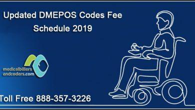 Updated-DMEPOS-Codes-Fee-Schedule-2019