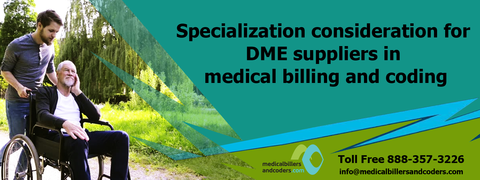 Specialization consideration for DME suppliers in medical billing and coding