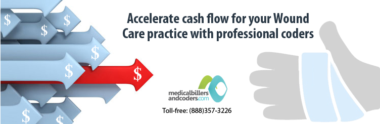 Accelerate cash flow for your Wound Care practice with professional coders