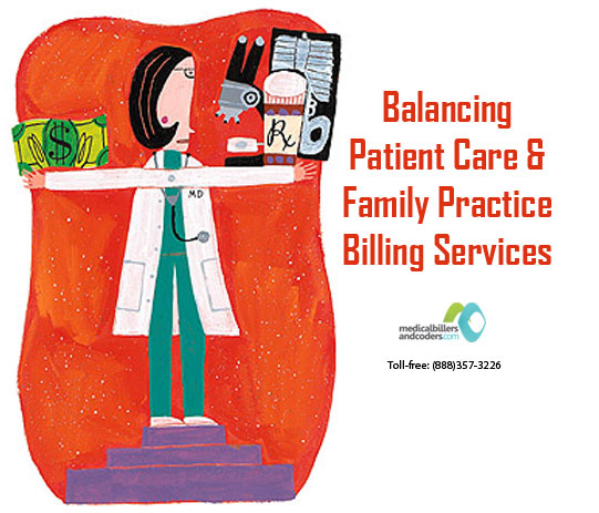 Balancing Patient Care and Family Practice Billing Services